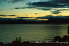 Sunset over Beagle channel, Ushuaia, Argentina