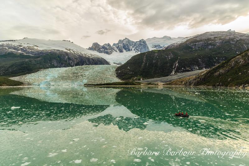Pia Glacier in Patagonia, Chile