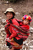 Sisters in the Huilloc Village, Andes Mountains, Peru