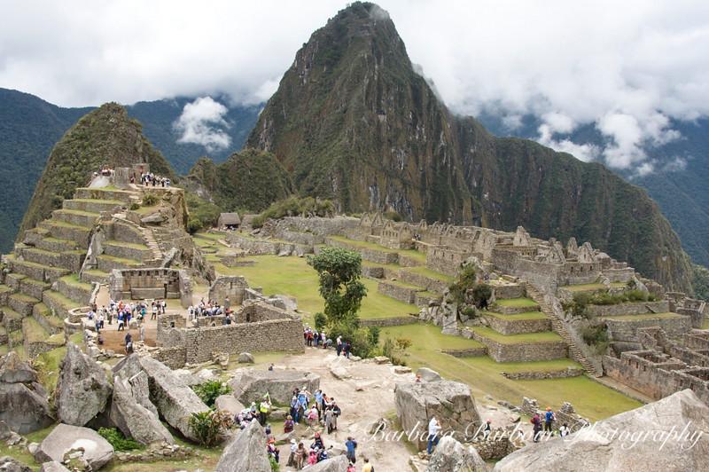 View of the hidden city of Machu Picchu, Peru