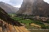 Ollantaytambo Ruins, Inca Trail,<br /> Peru
