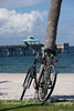 Bicycle at Deerfield Beach, Florida