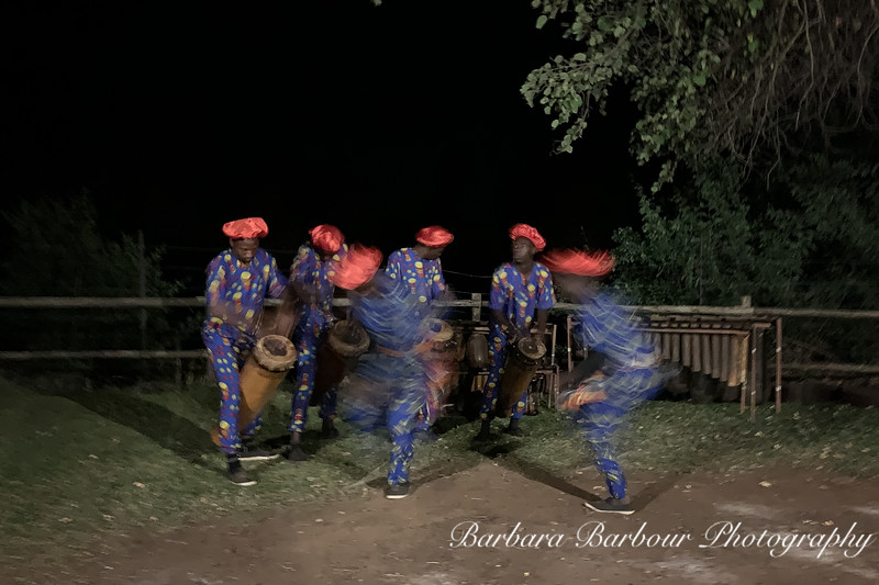 Dancers and muscians in Zambia