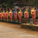 Statues  of monks