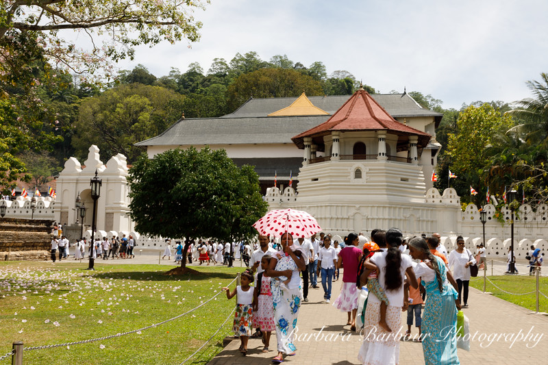 Entry to the Temple of  the Tooth Relic