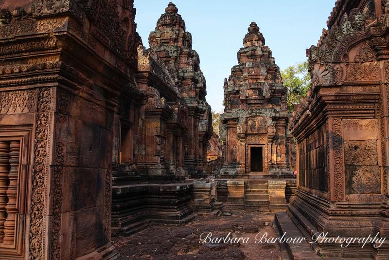Temple Ruins in Angkor Wat area, Siem Reap, Cambodia