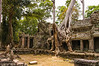 Temple ruins in Angkor Wat area, Siem Reap, Cambodia