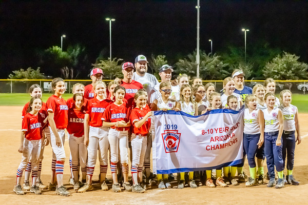 Arcadia Little League - Championship Games - July 2019 - Cottonwood, AZ