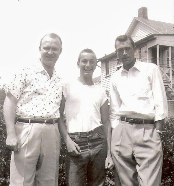 1953 - E's husband,Gus,Gene 1953 copy