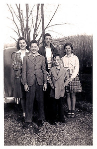 1946 - gene, evella, billy, nancy, gus
