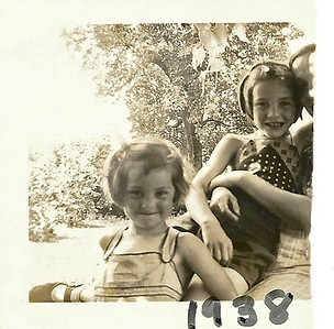 1938 - nancy and evella