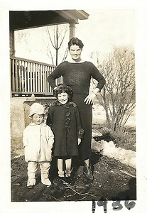 1936 - aunt Nan nan, evella, nancy