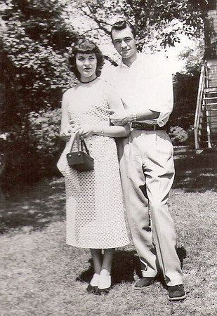 1953 - Peggy,Gene in Pburg-1953 copy
