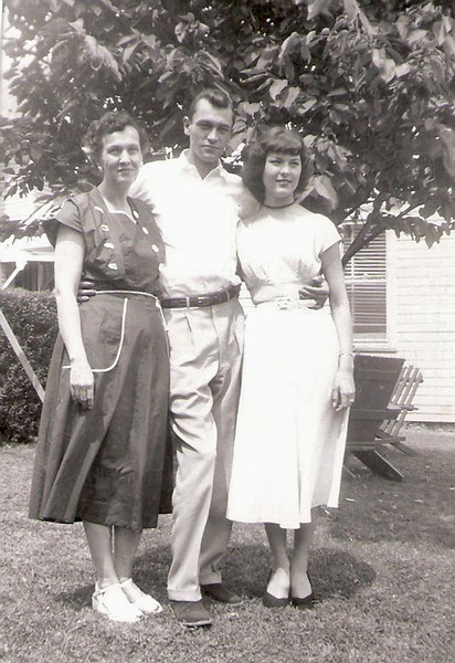 1953 - Claire,Gene,Peggy 1953 copy