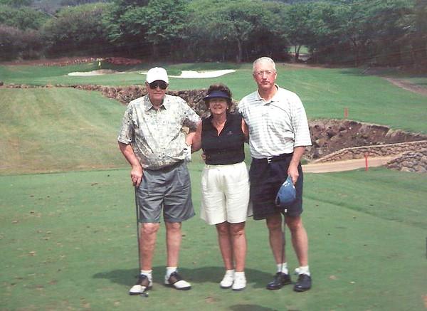 2006 - Gene, Barbara, Randy playing golf in SC - 2006 copy