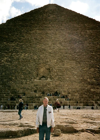 1997 - Gene in front of Egyptian pyramid-1997 copy