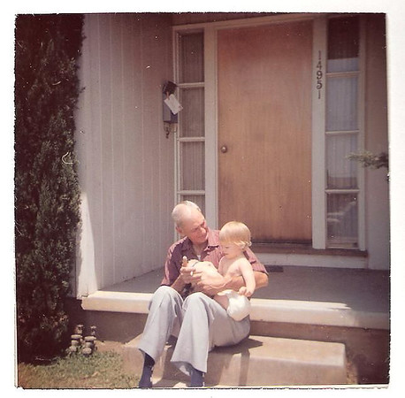 Cheryl & Grandpa Rogers-Nov 1958