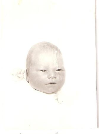Diana Rae-newborn-Feb 1960