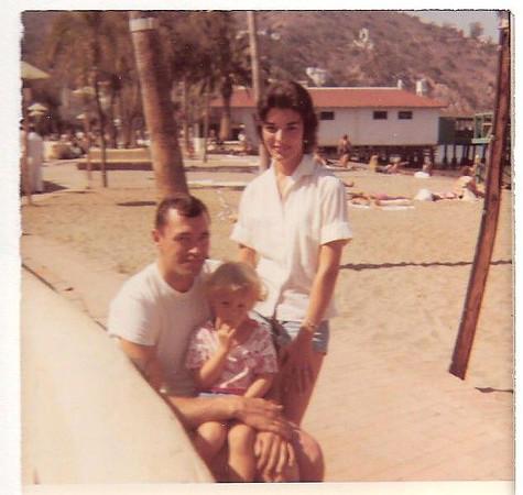 Gene,Cheryl,Peggy-Catalina Island-1960