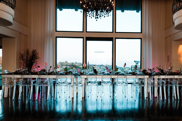 The Completely Bare's LA Summer House hosted a exclusive dinner party