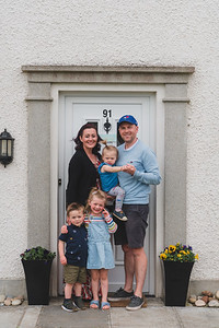Door step portrait.  Picture: Ronan McGrade