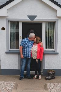 Door step portrait.  Picture: Ronan McGrade