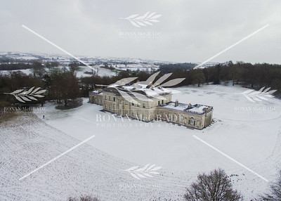 Castlecoole covered in a blanket of snow by Storm Emma in March 2018 © Ronan McGrade | www.ronanmcgradephotography.com