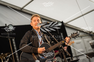 Barry Kirwan on stage at Harvest Country Music Festival, Enniskillen    Picture: Ronan McGrade