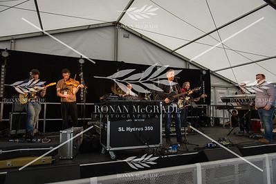 Barry Kirwan on stage at Harvest Country Music Festival, Enniskillen    Picture: Ronan McGrade