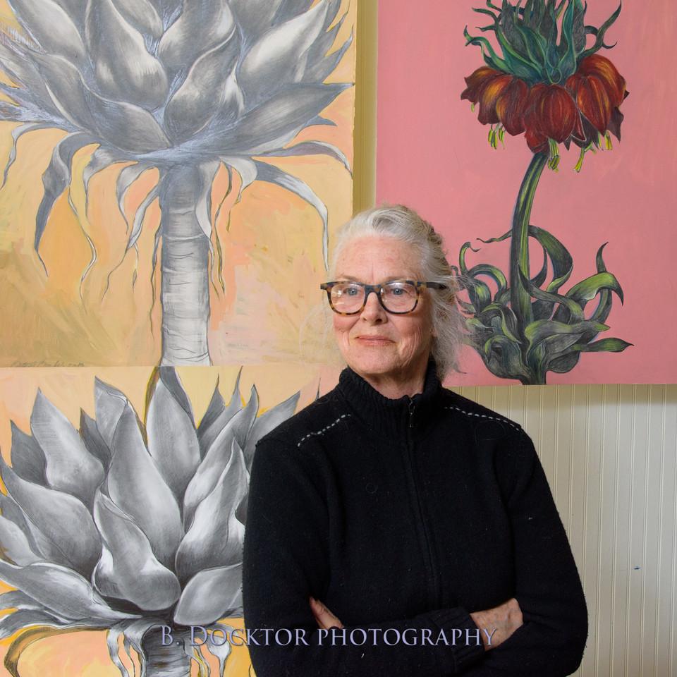 Betzie Bendis in studio-35