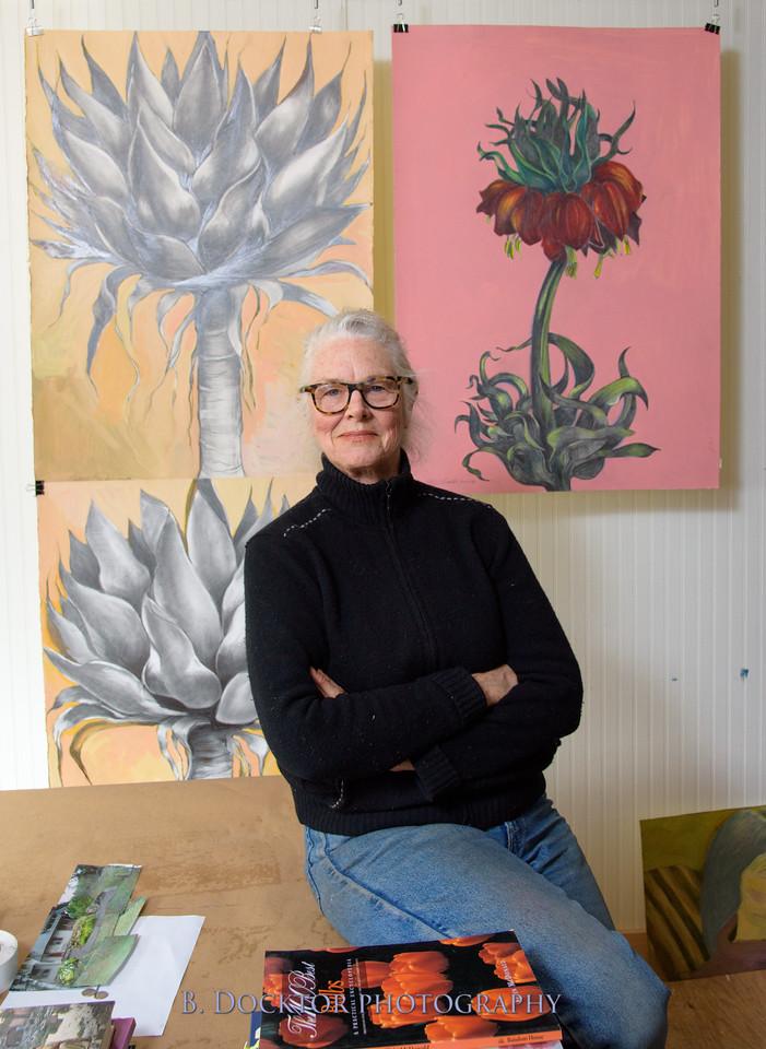 Betzie Bendis in studio-32