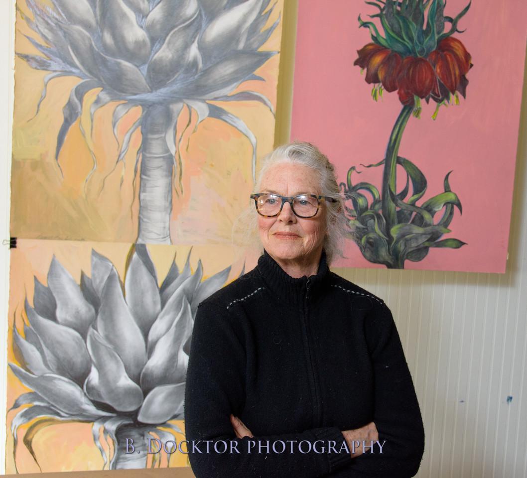 Betzie Bendis in studio-36