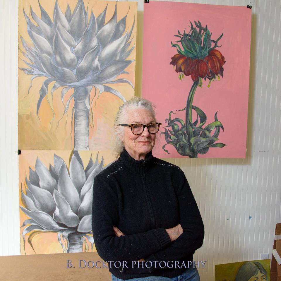 Betzie Bendis in studio-34