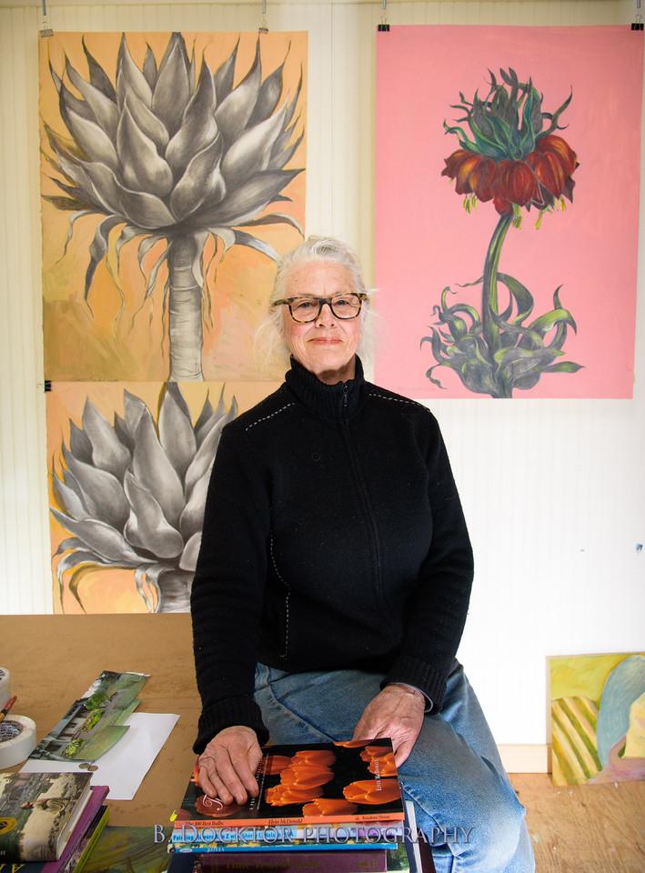 Betzie Bendis in studio-9