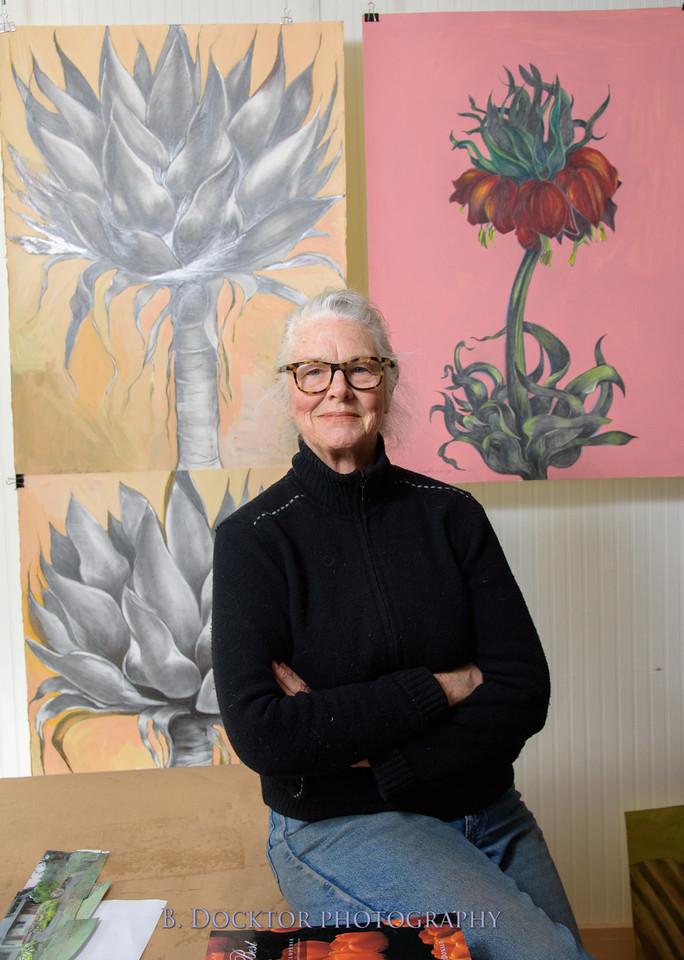 Betzie Bendis in studio-26