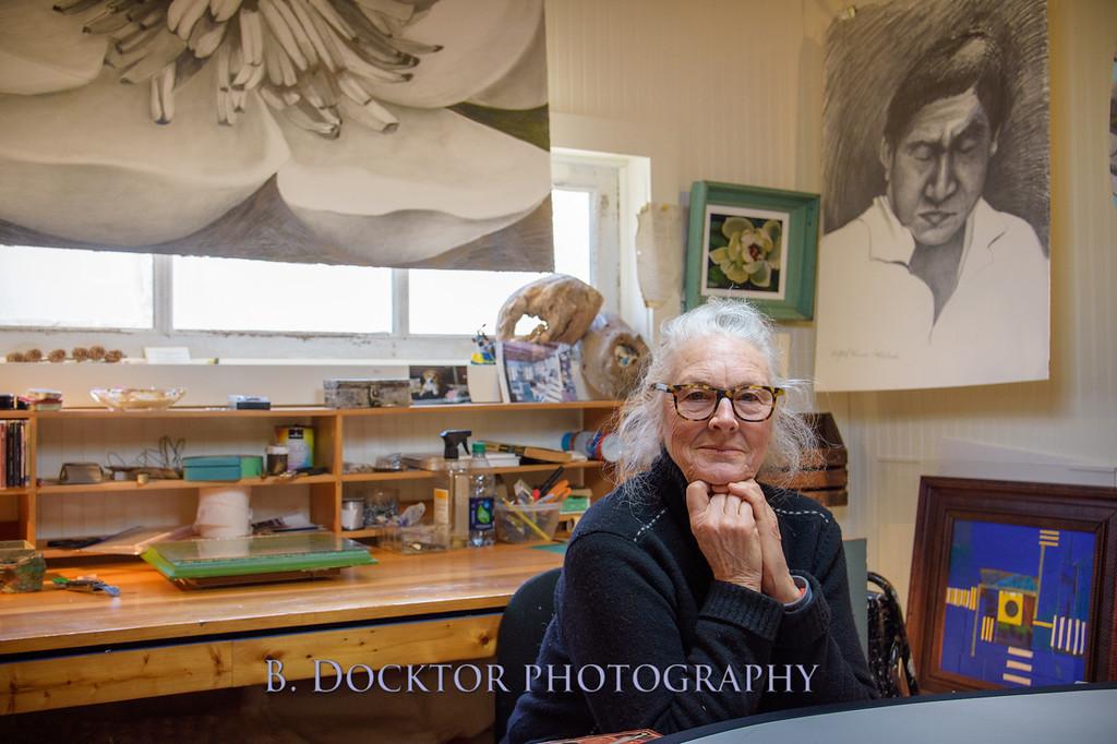Betzie Bendis in studio-1