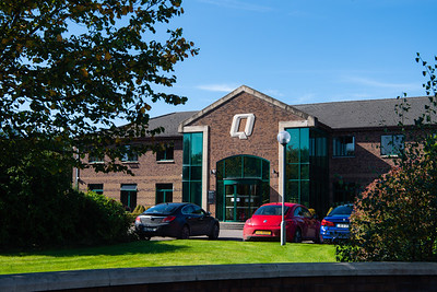 Quinn Industrial Holdings headquarters near Derrylin.  Picture: Ronan McGrade/Pacemaker Press