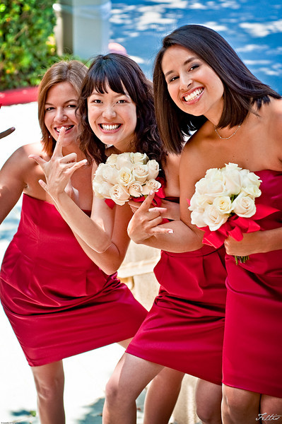 Bridesmaids at Hotel