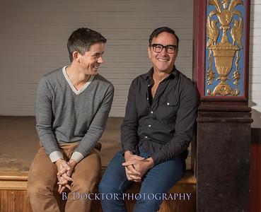 Ancram Opera House Owners, Paul Ricciardi and Jeff Mousseau