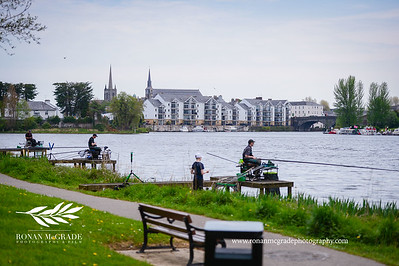 The anglers at the Fermanagh Classic Fishing Festival enjoyed temperatures of up to 27 degrees during the week    RMG17