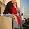 Chris Pavasaris and Meg's engagement photos taken at the Lincoln Memorial in Washington, D.C..  Nov. 8, 2009.  (J. Alex Wilson)