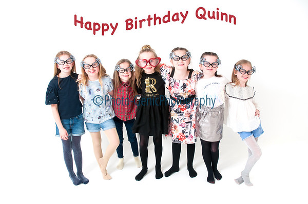 Quinn's Photoshoot Party