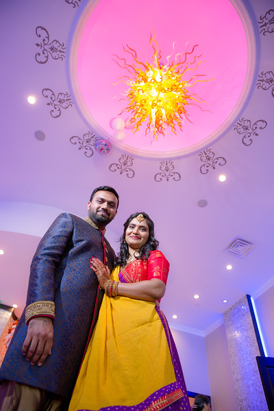 Riddhi and Mehul Engagement Party