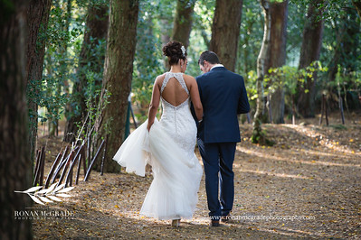Photographs from Sabrina and Christopher's wedding day