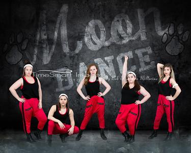 Respect Wall Moon Dance 20x16