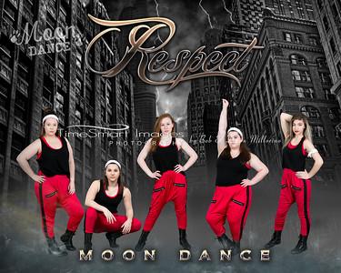 Respect Moon Dance 20x16