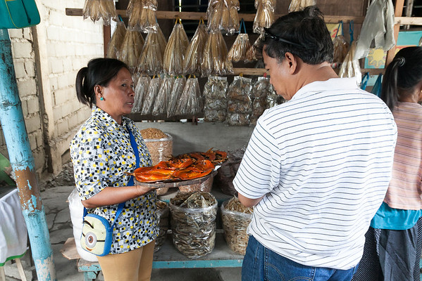 Dried fish is a specialty of Dagupan