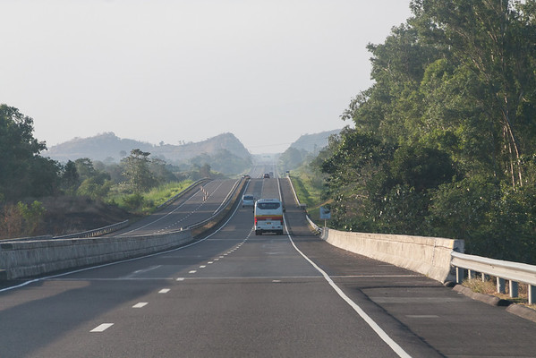 Traveling South on the Subic-Clark-Tarlac Expressway (SCTEX)