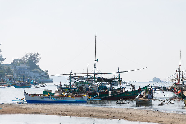 Fishing boats, Subic Bay