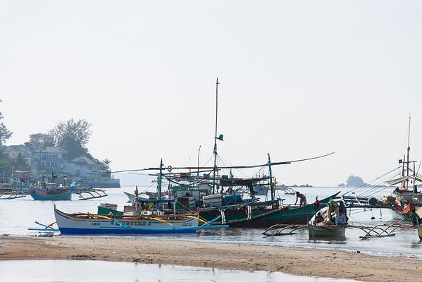 Fishing boats, Subic Bay